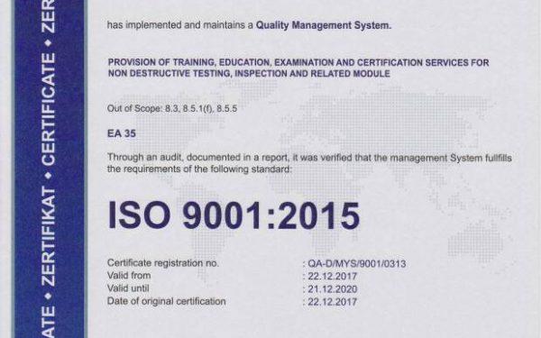 مراحل صدور گواهینامه ایزو 9001